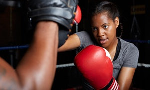 Groundgame: 10, 20, or 30 Drop-In Kickboxing Classes with Gloves at Groundgame (Up to 93% Off)