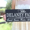 Up to 57% Off Personalized Family Signs