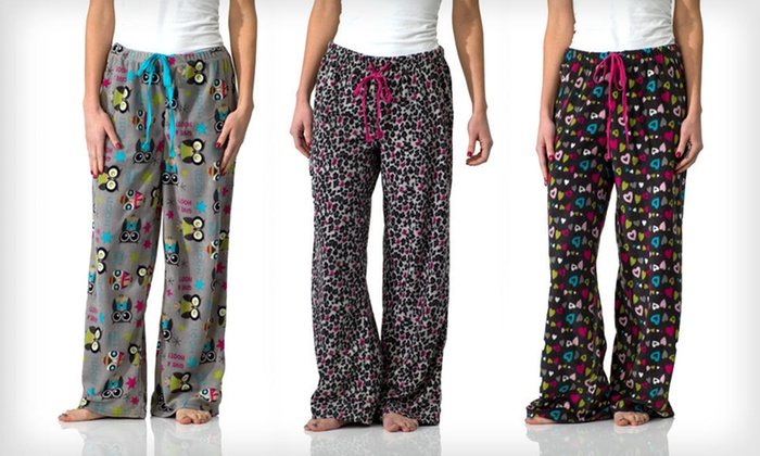 Intimo for Her Pajama Pants: $14 for Women's Pajama Pants in Fun Prints ($20 List Price). Multiple Styles and Sizes Available. Free Returns.