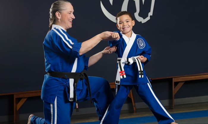 Warhorse Martial Arts - Multiple Locations: Four Weeks of Karate Classes with Uniform, or Birthday Party for Up to 10 at Warhorse Martial Arts (Up to 70% Off)