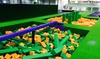 Jump Arena HO - Multiple Locations: Trampoline Park Family Pack with Pizza and Drinks for Up to Four People at Jump Arena, Four Locations (33% Off)