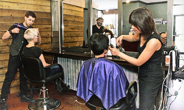 Stan Parente Salon - Multiple Locations: Women's Cut, Wash, and Blowout or Full-Foil Highlights, Cut, and Style at Stan Parente Salon (Up to 68% Off)