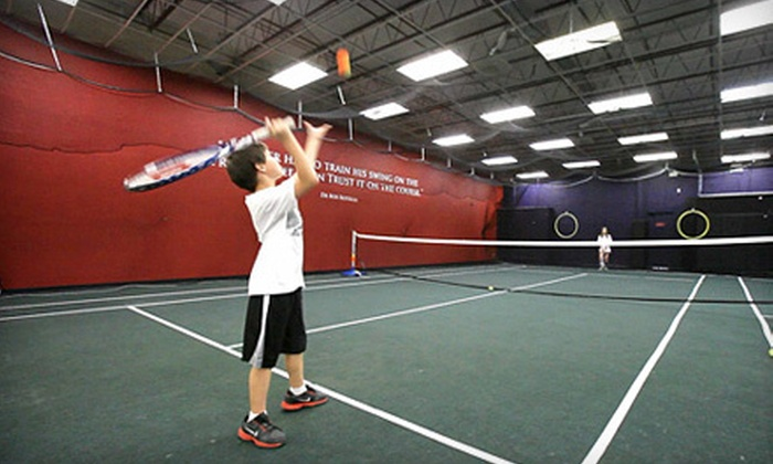 Sportz Skillz Golf & Tennis Center - Colorado Springs: Two Private Tennis Lessons or a Three-Week Tennis Clinic for Kids at Sportz Skillz Golf & Tennis Center (Up to 60% Off)