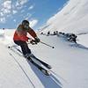 Clase de esquí o snow