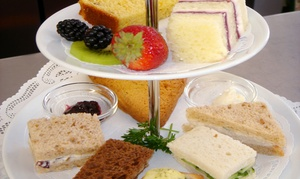Dori's Tea Cottage: Tea-Time Sampler with Sandwiches and Scones for Two or Four at Dori's Tea Cottage (Up to 42% Off)