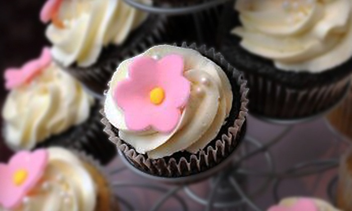 Daisy Cake Boutique - East Grossdale: One Dozen Gourmet Cupcakes, Wedding Cake, or $59 for $130 Worth of Pastries at Daisy Cake Boutique in Brookfield