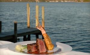 Ophelia's on the Bay: $15 for $30 Worth of Seafood, Continental Fare, and Drinks at Ophelia's on the Bay in Sarasota