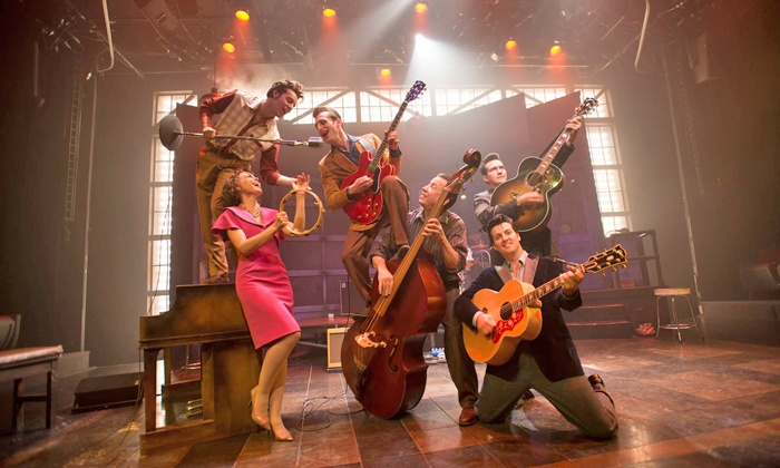 """Million Dollar Quartet - Lowell Memorial Auditorium: """"Million Dollar Quartet"""" at Lowell Memorial Auditorium on January 19 at 7 p.m. (Up to 51% Off)"""