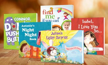 Up to 73% Off Personalized Paperback Kids' Books