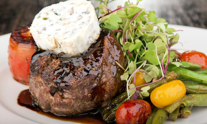 Andrew's 228 - Downtown Tallahassee: Steaks, Seafood, and Farm-to-Table Cuisine at Andrew's 228 (Up to 45% Off). Two Options Available.