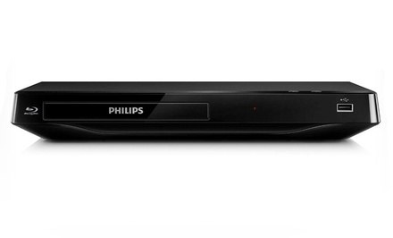Philips Smart Blu-Ray Disc/DVD Player with USB 2.0 Media Link