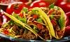 Tacos, burritos, chili con carne