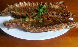 Restaurante Giralda: Menú para 2 o 4 con entrante a compartir, medias raciones, postre a compartir y bebida desde 16,95 € Restaurante Giralda