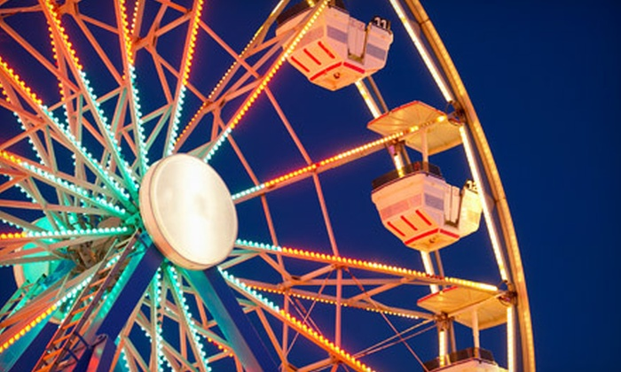 Napa County Fair - Calistoga: Day at Napa County Fair for Two Adults and Two Kids or Four Adults in Calistoga on July 1, 2, or 3 (Up to 56% Off)