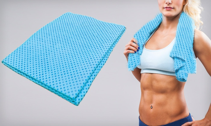 Cool-Aide Cooling Sports Towels: Medium or Large Cool-Aide Cooling Sports Towel (60% Off). Free Returns.