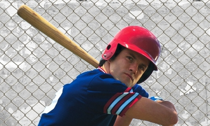 The Hitting Zone - Bartlett: 35 or 150 Batting-Cage Tokens at The Hitting Zone (Up to 60% Off)
