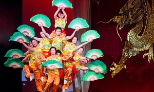 The Peking Acrobats: The Peking Acrobats on March 15, at 7 p.m.