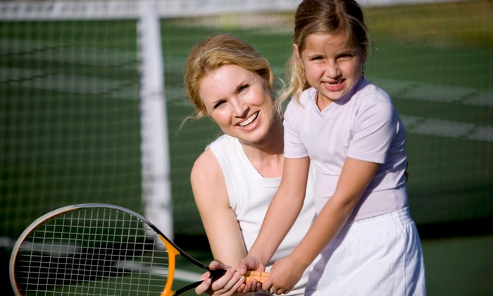 Ojakian Tennis - The Langham Huntington,: Junior and Adult Tennis Clinics at Ojakian Tennis (Up to 43% Off). Four Options Available.