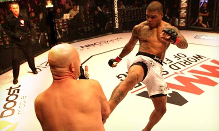 MMA World Series of Fighting - Ontario: MMA World Series of Fighting on Saturday, August 10, at 5 p.m. (Up to 58% Off). Two Seating Options Available.