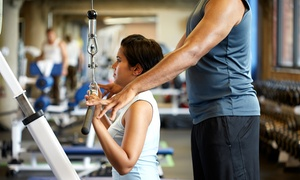 Just for you personal training: $50 for One-Month Personal Training with Unlimited Cardio at Just for You Personal Training ($99 Value)
