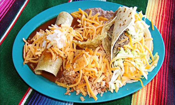 Talitas Mexican Kitchen - Barfield Heights: Tex-Mex Food at Talita's Mexican (Up to 55% Off). Two Options Available.