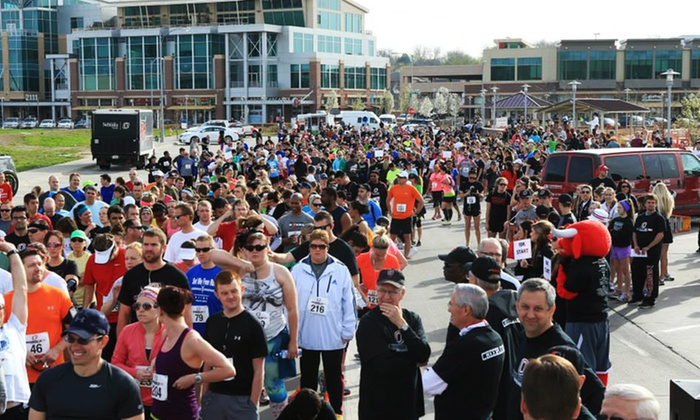 University Of Nebraska Omaha - Baxter Arena: One or Two Adult Tickets to the Claussen-Leahy Run & Walk on Saturday, April 25 (Up to 67% Off)