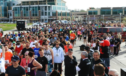 One or Two Adult Tickets to the Claussen-Leahy Run & Walk on Saturday, April 25 (Up to 67% Off)