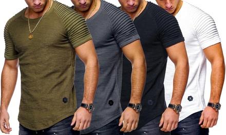Gestructureerde Tshirts voor herenstalen