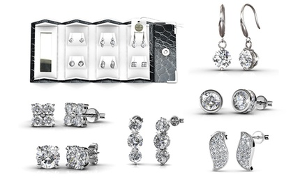 SixPiece Elegant Earring Set with Crystals from Swarovski®: One $35 or Two $59.95 Don't Pay Up to $804.24