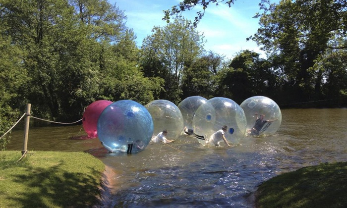 Pump It Up Events - Pump It Up Events: Winter Water Zorbing Experience For Two from £16 with Pump It Up Events (50% Off)