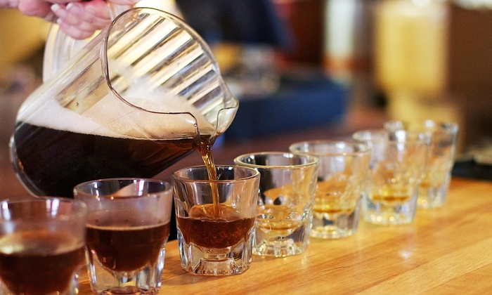 THAT Brewery - Cottonwood: Beer-Flight Package for Two or Four with Growlers at THAT Brewery (Up to 50% Off)