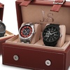 Joshua & Sons Men's Sports Watches Gift Set