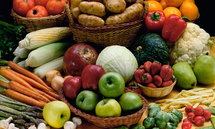 $35 for One Create-Your-Own Organic Fruit or Vegetable Box from Organic Mountain Farms ($50 Value)