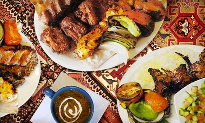 Reyhan Persian Grill - Culver City : Persian Cuisine Tasting Menu for Two or Four or Premium Tasting Menu for Two at Reyhan Persian Grill (Up to 55% Off)