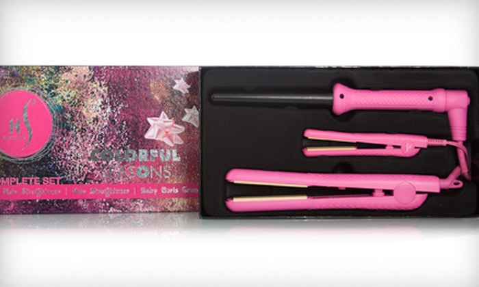 HerStyler Complete Styling Set: $59 for a HerStyler Complete Styling Set ($355 List Price). Multiple Colors Available. Free Shipping.