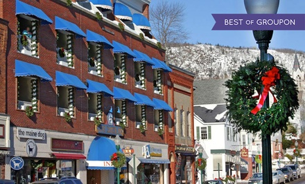 2-Night Stay for Two with Dining and Shopping Credits at Lord Camden Inn in Camden, ME. Combine Up to 4 Nights.