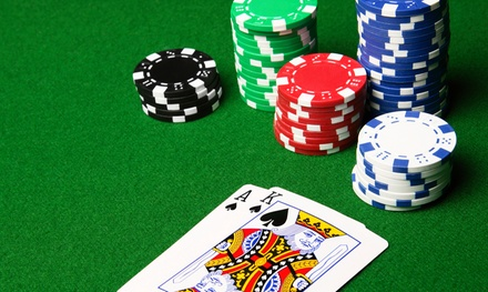 Poker-Club Admission for One or Two at Aces Full (Up to 50% Off)