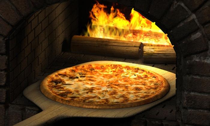 Brickhouse Pizza & Grille - Clifton Park: Pizzeria Food and Drinks at Brickhouse Pizza & Grille (Up to 52% Off). Five Options Available.