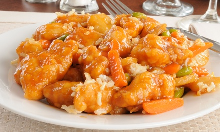 Dinner for Two or Chinese Cuisine for Four or More at Sizzling Wok Restaurant (45% Off)