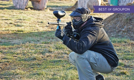 All-Day Paintballing with Gear Rental for One, Two, Four, or Six at Bing Field Paintball & Airsoft Park (50% Off)