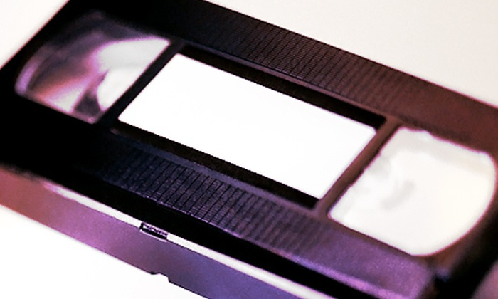 MediaGo2 - Willowdale: One, Three, or Five Videotape-to-DVD Conversions from MediaGo2 (Up to 65% Off)