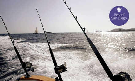 $32 for a Half-Day Fishing Trip with Tackle and Fees from Fisherman's Landing (Up to $64 Value)