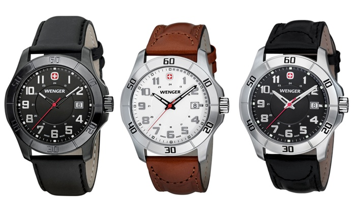 Wenger Men's or Women's Alpine Sport Watches: Wenger Men's or Women's Alpine Sport Watches. Eight Options from $99.99–$129.99. Free Returns.