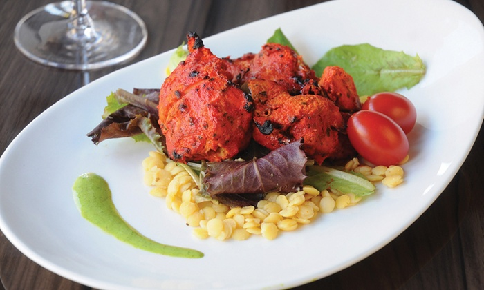 Bindia Indian Bistro - Downtown Toronto: Indian Food at Bindia Indian Bistro (Up to 42% Off). Four Options Available.