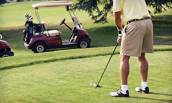 Polo West - Greenview Shores of Wellington: $35 for 18 Holes of Golf with Cart Rental and Range Balls for Two at Polo West (Up to $103 Value)