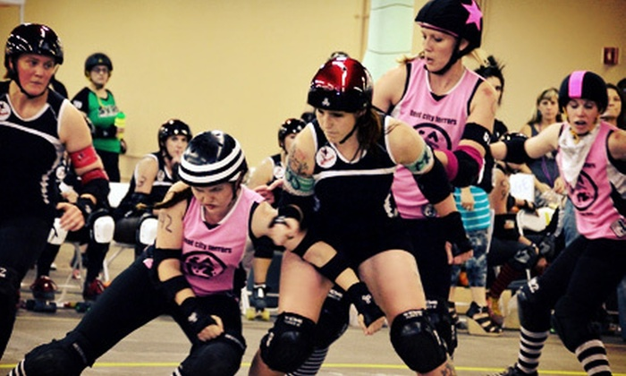 Arizona Roller Derby - North Mountain: Arizona Roller Derby Bout for Two or a Season Pass for Two at Castle Sports Club (Up to 53% Off)