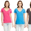 Abbott + Main Women's V-Neck T-Shirt 4-Pack