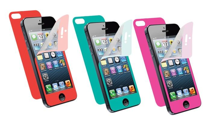 Merkury iPhone Screen Protector: $4.99 for a Merkury iPhone 5 Colored Screen Protector ($14.99 List Price). Multiple Colors. Free Returns.