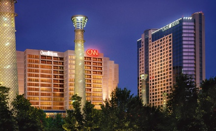 Stay at Omni Hotel at CNN Center in Downtown Atlanta, with Dates into March