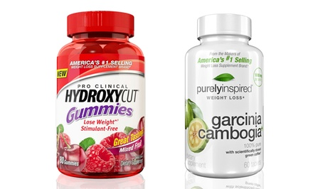 Hydroxycut Gummies and Weight Loss Garcinia Cambogia Supplements
